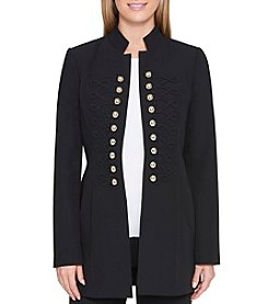 Tommy Hilfiger Black Military Topper Jacket