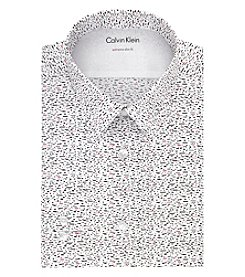 Calvin Klein Men's Print Extreme Slim Fit Dress Shirt