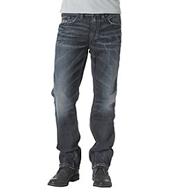 Silver Jeans Co. Men's Easy Fit Straight Leg Grayson Jeans