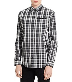 Calvin Klein Jeans Men's Jasper Plaid Button Down