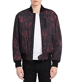 Calvin Klein Jeans Men's Abstract Bomber Jacket
