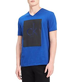 Calvin Klein Jeans Men's CK V-Neck Graphic Tee