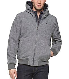 Tommy Hilfiger Men's Soft Shell Jacket With Bib