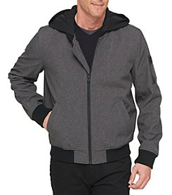 Levi's Men's Softshell Jersey Hooded Jacket