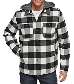 Levi's Men's Wool Jacket With Jersey Hood
