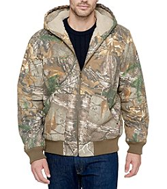 Levi's® Men's Camo Workwear Hoodie with Sherpa Hood