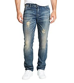 William Rast Men's Dean Slim Straight Denim Jeans