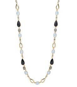 Anne Klein Goldtone Strandage Necklace