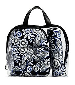 Vera Bradley Iconic 4 Piece Cosmetic Set
