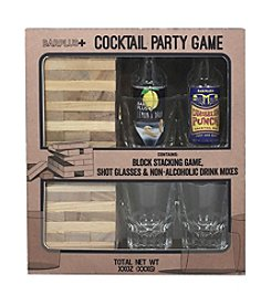 BarPlus+ Cocktail Party Stacking Blocks Game and Barware