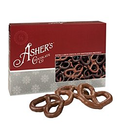 Asher's 14.4-oz Milk and Dark Chocolate Pretzels Box