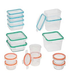 Snapware 30-Piece Storage Tote Set with Total Solution Lids