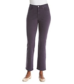 Jones New York Dark Plum Lexington Jeans