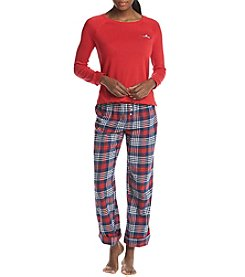 Tommy Hilfiger Mask and Pajama Set