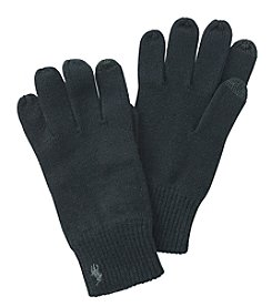 Polo Ralph Lauren Men's Cotton-Blended Tech Gloves