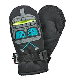 Statements Boys' Robot Print Mittens