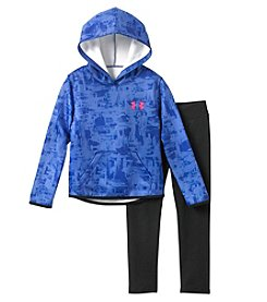 Under Armour Girls' 4-6X Painted Streaks Pullover And Pants Set