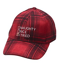 Collection 18 Naughty Nice Baseball Hat