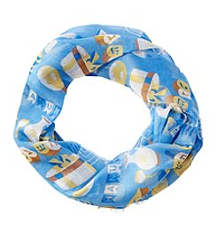 Collection 18 Happy Hanukkah Loop Scarf