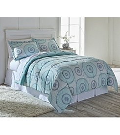 Living Quarters Sasha Reversible Microfiber Down-Alternative Comforter