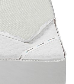 AllerEase® Platinum Protection & Comfort Zip-Off Top Allergy Mattress Protector