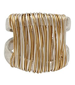 Robert Lee Morris Soho™ Two-Tone Wire Wrapped Sculptural Ring