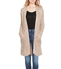 Jessica Simpson Moonlight Ribbed Cardigan Sweater