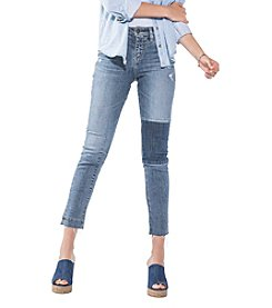 Silver Jeans Co. Izzy Raw Hem Ankle Jeans