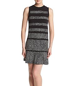MICHAEL Michael Kors® Petites' Cheetah Panel Dress