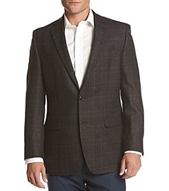 Lauren Men's Big & Tall Windowpane Sport Coat