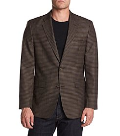 Tommy Hilfiger Men's Big & Tall Checked Sport Coat