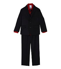 Nautica® Boys' 2-7 3 Piece Herringbone Suit Set