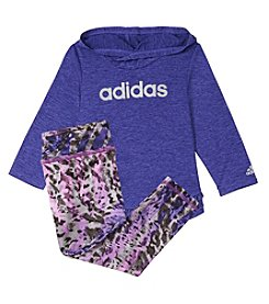 adidas® Baby Girls' Hoodie And Tights Set