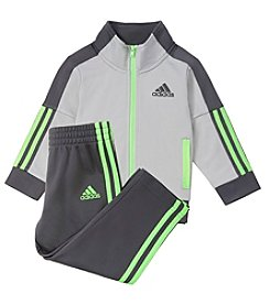 adidas® Baby Boys' 12M-24M Icon Tricot Jacket Set
