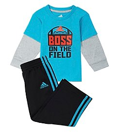 adidas® Baby Boys' 12M-24M Boss On The Field Set