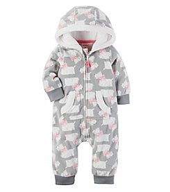 Carter's Baby Girls' Dog Print Coverall