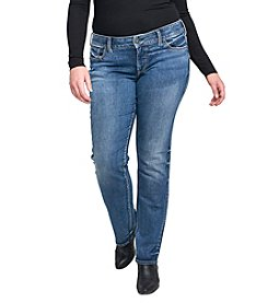 Silver Jeans Co. Plus Size Suki Straight Leg Jean