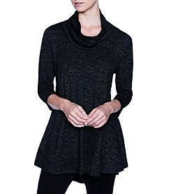 Joan Vass Cowl Neck Tunic