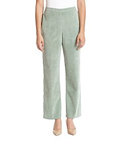 Alfred Dunner Petite Short Corduroy Pants