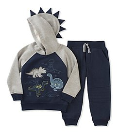 Kid's Headquarters® Baby Boys' Dino Fleece Top & Jogger Pants