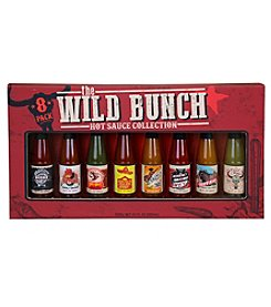 Coastal Cocktails 8-Pack Wild Bunch Hot Sauce Variety Set