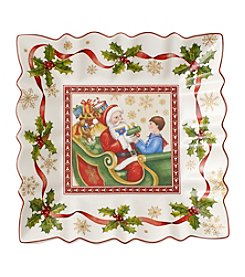 Villeroy & Boch® Square Holiday Plate