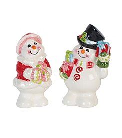 Fitz and Floyd® Flurry Folk Salt And Pepper Shakers