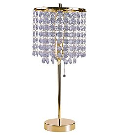 Ore International™ Deci Glam Table Lamp