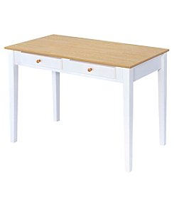 Ore International™ Oak-Top Cottage Desk