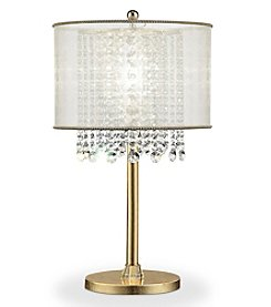 Ore International™ Bhavya Crystal Table Lamp