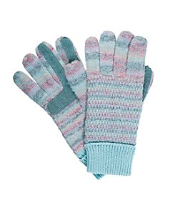 Isotoner Signature® Marled Knit Gloves