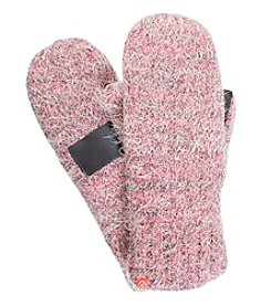Isotoner Signature® Feathered Mittens with Sherpa Lining