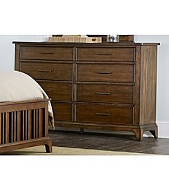 Liberty Furniture Mill Creek 8-Drawer Dresser