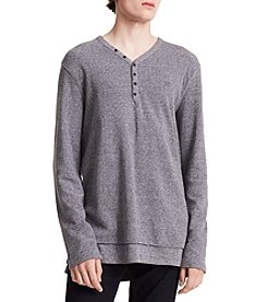 Calvin Klein V Neck Henley Top